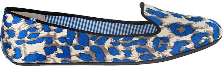 Charles Philip SHANGHAI Sheila Loafer Peacock Satin