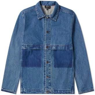 A.P.C. Smith Denim Chore Jacket