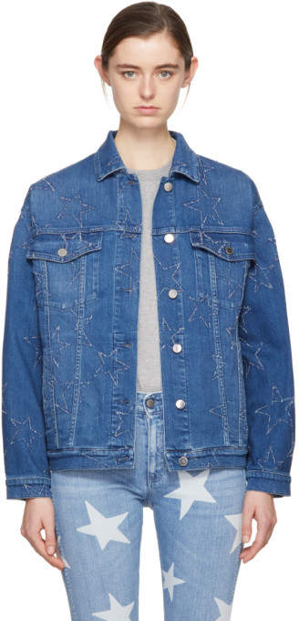 Blue Denim Stars Jacket