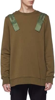 Matthew Miller Hook-and-loop strap sweatshirt