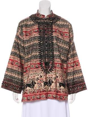 Givenchy Embroidered Floral Tunic