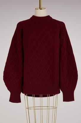 Victoria Beckham Oversize sleeved sweater