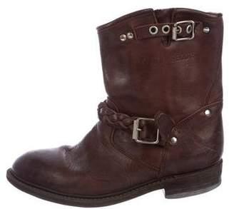 Golden Goose Biker-S Leather Boots