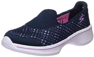 Skechers Girls' Go Walk 4 Kindle Slip-On Sneaker