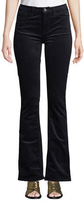 7 For All Mankind Jen7 by Slim Boot-Cut Mid-Rise Corduroy Pants