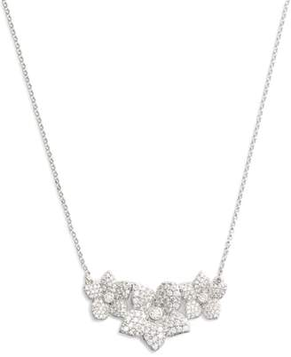 Kate Spade Blooming Pave Pendant Necklace