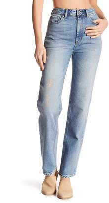 Rebecca Taylor Painted Striaght Leg Jeans