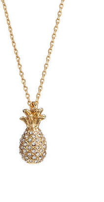 Kate Spade By The Pool Goldplated Pineapple Necklace