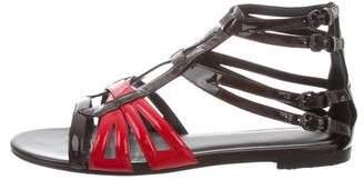 Bottega Veneta Vernis Gladiator Sandals