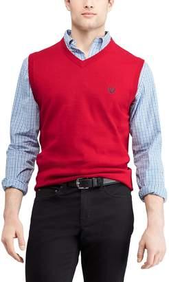 Chaps Men's Regular-Fit V-Neck Sweater Vest