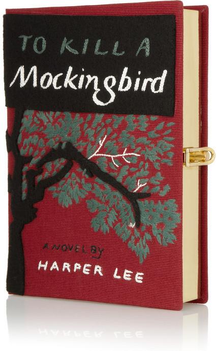 Olympia Le-Tan To Kill A Mockingbird embroidered clutch