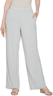 Halston H By H by Regular Jet Set Jersey Wide Leg Pull-on Pants