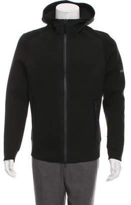 Isaora Hooded Neoprene Jacket