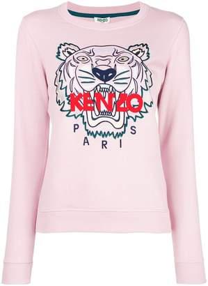Kenzo logo-print jumper