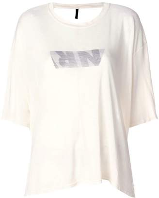 Unravel Project open-back logo T-shirt