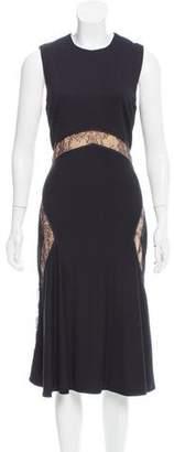 Jason Wu Sleeveless Lace-Trimmed Dress w/ Tags