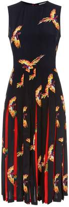 Diane von Furstenberg Talita Phoenix Midi Dress