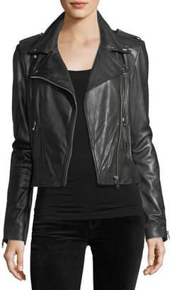 LaMarque Classic Leather Biker Jacket
