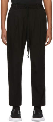 Song For The Mute Black Viscose Lounge Pants