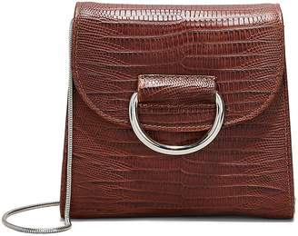 Little Liffner D Tiny Box Embossed Shoulder Bag