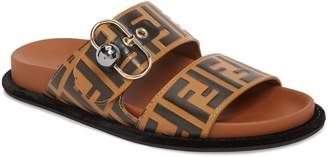 Fendi Pearland Logo Slide Sandal