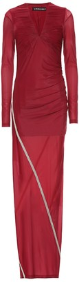 Y/Project Embroidered maxi dress