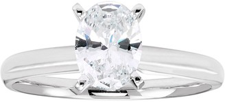 Evergreen Diamonds 1 Carat T.W. IGL Certified Lab-Created Diamond Solitaire Engagement Ring