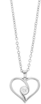 Brilliance+ Brilliance Heart Pendant Necklace with Swarovski Zirconia