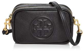 Tory Burch Perry Bombe Mini Leather Crossbody