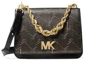 MICHAEL Michael Kors Large Mott Twisted-Chain Swag Crossbody Bag