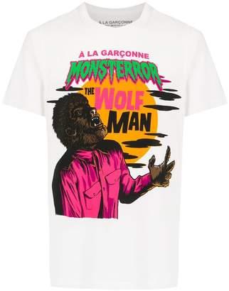 Wolf & Man À La Garçonne Wolfman t-shirt
