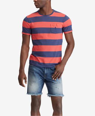 Polo Ralph Lauren Men's Big & Tall Classic Fit Cotton Stripe T-Shirt