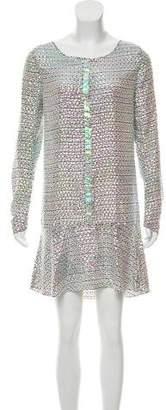Theyskens' Theory Embellished Mini Dress