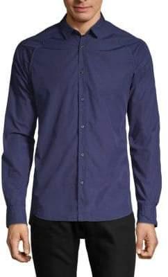 Scotch & Soda Raglan Sleeve Sport Shirt