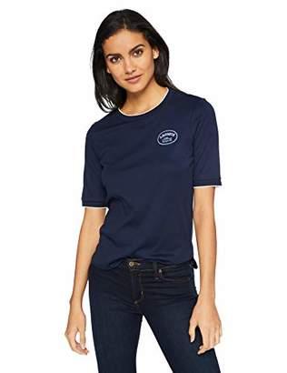 Lacoste Women's Short Sleeve Crewneck Athleisure Badge T-Shirt