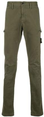 Stone Island skinny-fit cargo trousers