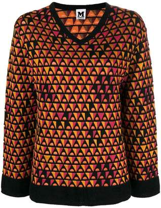 M Missoni v-neck loose sweater