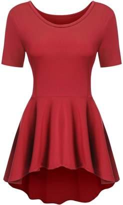 Meaneor Women's Summer Bohemian Floral Print Sleeveless Maxi Dress (XL, )