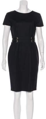 Versace Knee-Length Sheath Dress