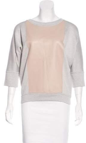 Hermès Swift Leather Dolman Top