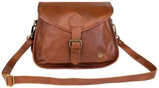 MAHI Leather - Classic Saddle Bag In Vintage Brown Leather