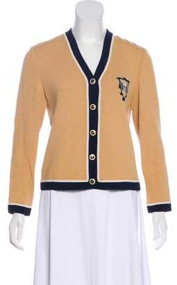 St. John Long Sleeve Button-Up Cardigan