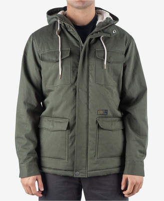 Rip Curl Men's Patrol Fleece-Lined Hooded Jacket