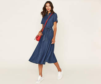 Oasis LONG MIDI SHIRT DRESS