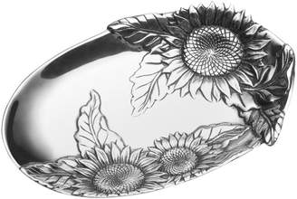 Wilton Armetale Sunflower Bread Tray