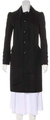 RED Valentino Knee-Length Button-Up Coat