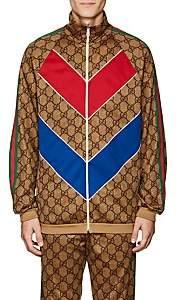 Gucci Men's GG Supreme Oversized Track Jacket - Camel
