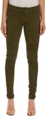 J Brand Camo Suede Skinny Leg