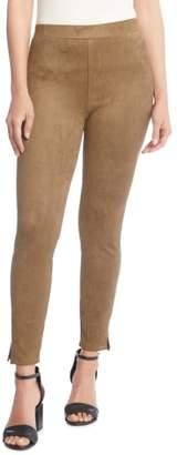 Karen Kane Faux Suede Skinny Pants
