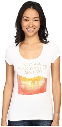 Life is good Not All Who Wander Are Lost Horse Newbury Scoop $22 thestylecure.com